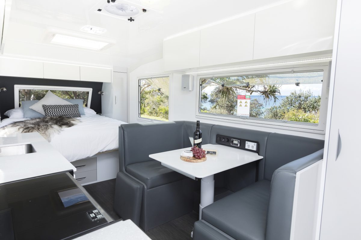 Caravan Internal surface protection Always Dry