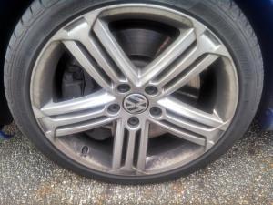 volkswagon wheel brakedust