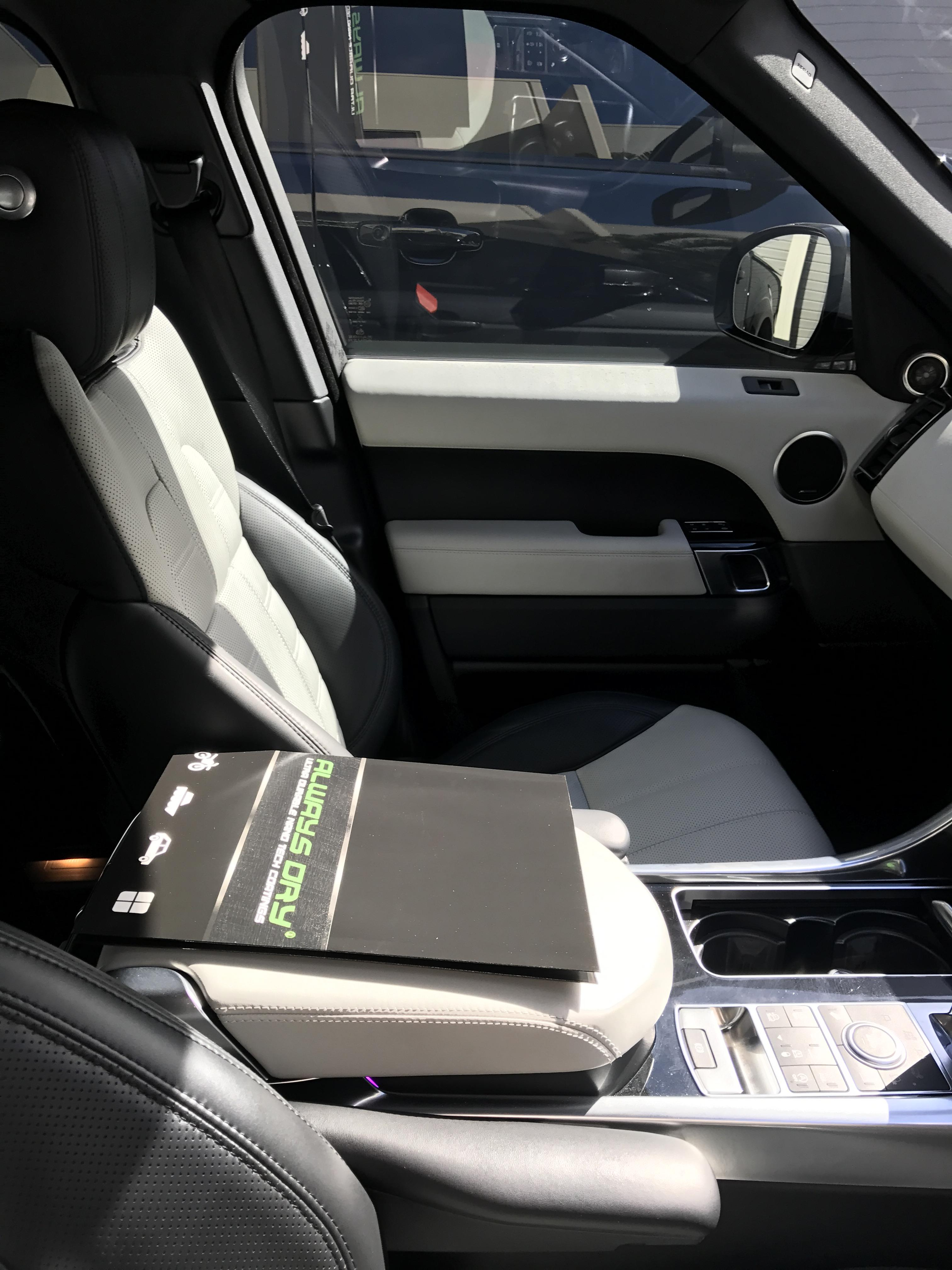 Interior leather protection
